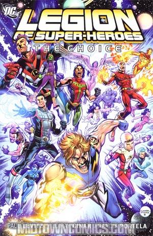 Legion Of Super-Heroes The Choice HC