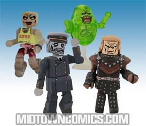 Ghostbusters Minimates Box Set #4