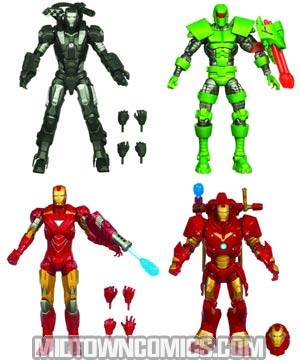 Iron Man 6-Inch Action Figure Assortment Case 201101