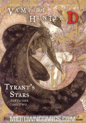 Vampire Hunter D Novel Vol 16 Tyrants Stars Parts 1 And 2 SC