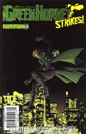 Green Hornet Strikes #5 Regular John Cassaday Cover