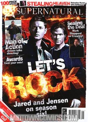 Supernatural Magazine #21 Dec 2010 Newsstand Edition
