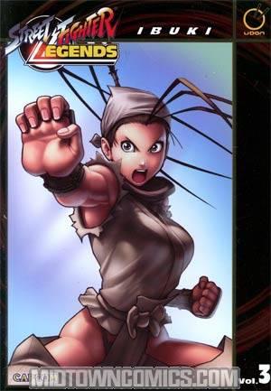 Street Fighter Legends Vol 3 Ibuki TP