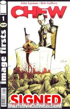 Image Firsts Chew #1 Signed By John Layman