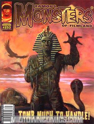 Famous Monsters Of Filmland #253 Incentive William Stout Variant Cover