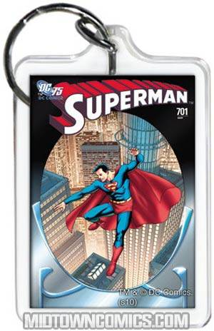 Superman #701 Cover Acrylic Keychain (65766KR)