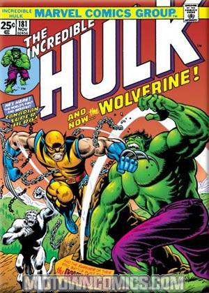 Hulk Cover #181 Magnet (29909MV)