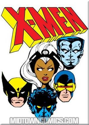 X-Men Head Shots John Byrne Magnet (29926MV)
