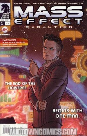 Mass Effect Evolution #1 Incentive Joe Quinones Variant Cover