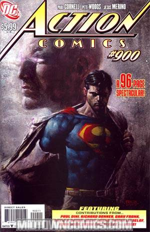 Action Comics #900 1st Ptg Regular David Finch Cover