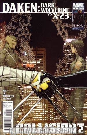 Daken Dark Wolverine #8 (Collision Part 2)