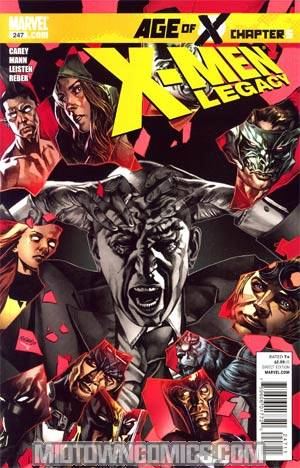 X-Men Legacy #247 Regular Mico Suayan Cover (Age Of X Part 5)