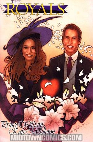 Royals Prince William Kate Middleton GN Edition