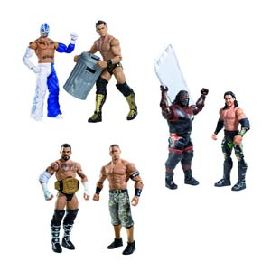 WWE 2-Pack Action Figure Assortment Case