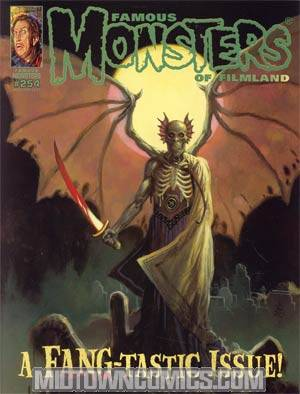 Famous Monsters Of Filmland #254 Mar/Apr 2011 Previews Exclusive Incentive William Stout Variant Cover