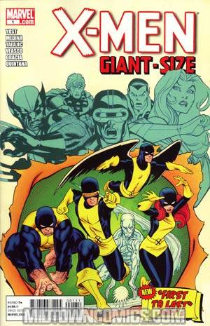 X-Men Giant-Size #1 Regular Ed McGuinness Cover
