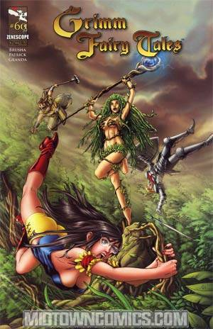 Grimm Fairy Tales #60 Cover B Steven Cummings