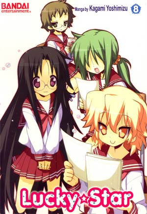 Lucky Star Vol 8 GN