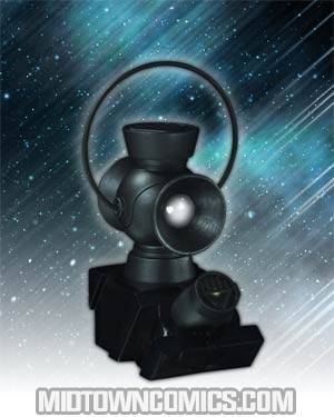 Blackest Night Black Lantern 1/4 Scale Power Battery And Ring Prop Replica Set