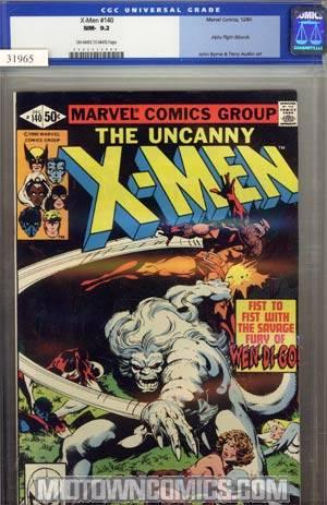 X-Men Vol 1 #140 CGC 9.2