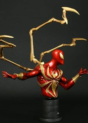 Iron Spider-Man Mini Bust By Bowen