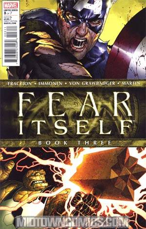 Fear Itself #3 1st Ptg Regular Steve McNiven Cover