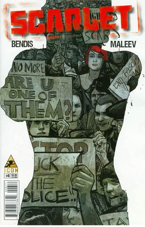 Scarlet #6 Regular Alex Maleev Cover