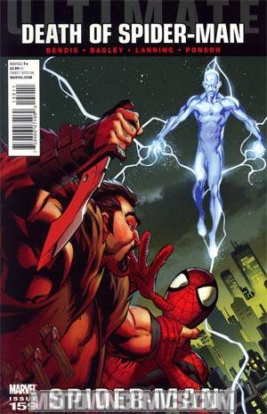 Ultimate Comics Spider-Man #159 Regular Mark Bagley Cover (Death Of Spider-Man Tie-In)