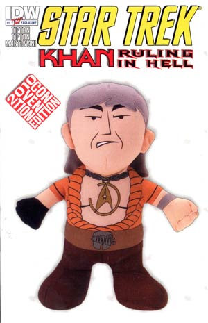 Star Trek Khan Ruling In Hell #1 SDCC 2010 Exclusive Cover