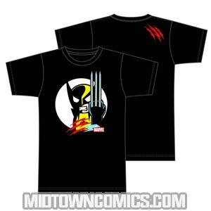 tokidoki x Marvel Wolverines Claw Black T-Shirt Large