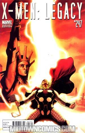 X-Men Legacy #247 Incentive Thor Goes Hollywood Variant Cover (Age Of X Part 5)