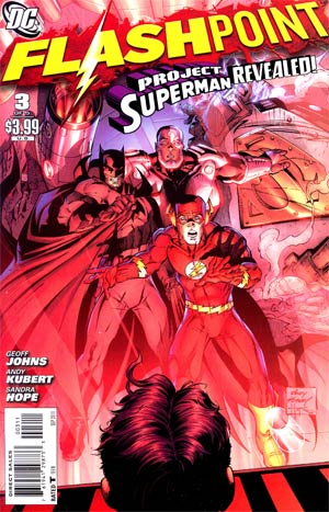 Flashpoint #3 Regular Andy Kubert Cover