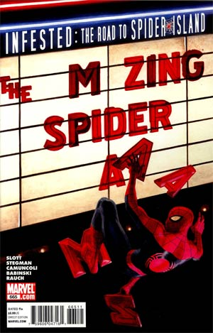 Amazing Spider-Man Vol 2 #665 Regular Paolo Rivera Cover