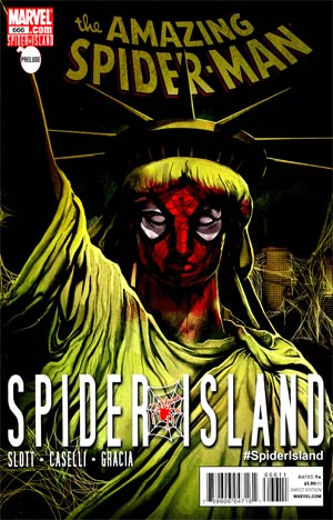 Amazing Spider-Man Vol 2 #666 Cover A 1st Ptg Regular Mike Del Mundo Cover (Spider-Island Prelude)