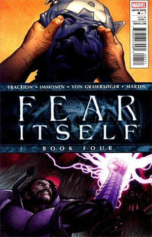Fear Itself #4 1st Ptg Regular Steve McNiven Cover