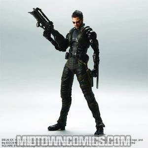 Deus Ex Human Revolution Play Arts Kai Adam Jensen Action Figure