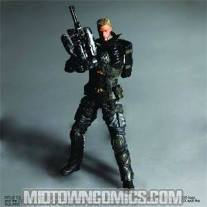 Deus Ex Human Revolution Play Arts Kai Barret Action Figure
