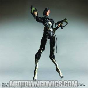 Deus Ex Human Revolution Play Arts Kai Federova Action Figure