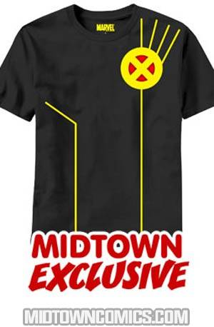 X-Men Cyclops Costume Midtown Exclusive T-Shirt Large