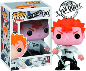 POP Rock 20 Johnny Rotten Vinyl Figure