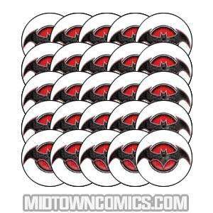 Flashpoint Pin Bag Of 25 Pins - Batman Knight Of Vengeance