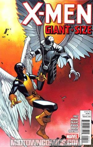 X-Men Giant-Size #1 Incentive Paco Medina Variant Cover