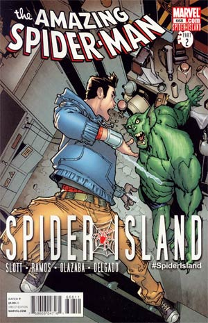 Amazing Spider-Man Vol 2 #668 Cover A 1st Ptg (Spider-Island Tie-In)