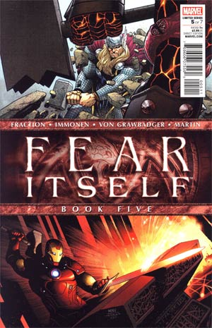 Fear Itself #5 1st Ptg Regular Steve McNiven Cover