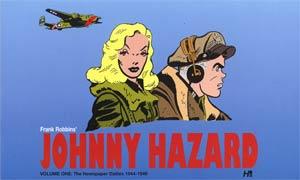 Frank Robbins Johnny Hazard Newspaper Dailies Vol 1 1944-1946 HC