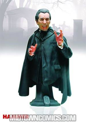 Hammer Christopher Lee As Count Dracula Mini Bust