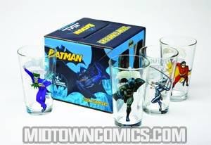 DC Comics Classic Toon Tumbler - Batman Boxed Set