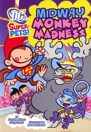 DC Super-Pets Midway Monkey Madness TP