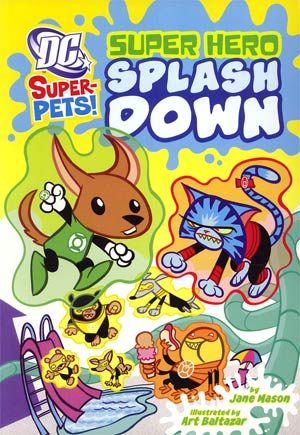 DC Super-Pets Super Hero Splash Down TP