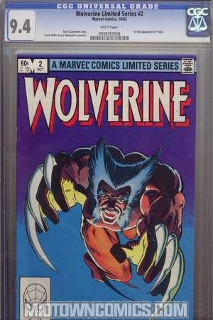 Wolverine #2 CGC 9.4